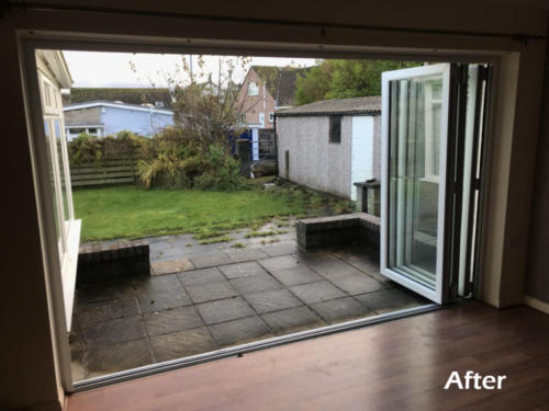 bi-fold doors anglesey after3